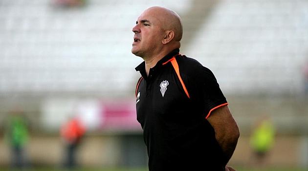 Luis César, en un partido del Albacete de la pasada temporada / Marca