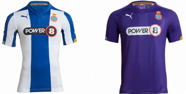 Nuevas camisetas del Espanyol para la temporada 2014-15 (Foto  web Espanyol) 435b4478cc8