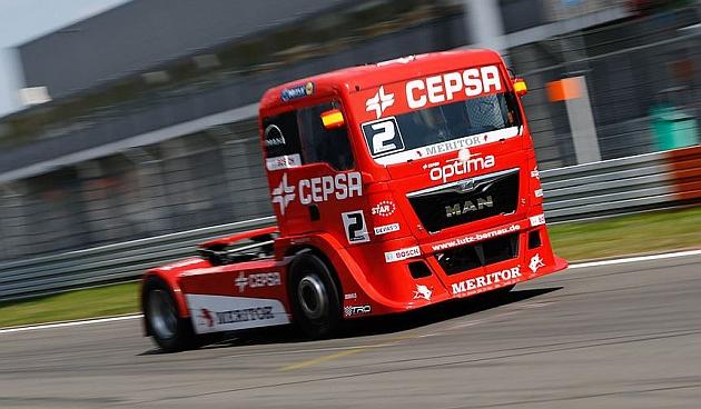 Antonio Albacete compitiendo en Nurburgring Foto: CepsaOfficial