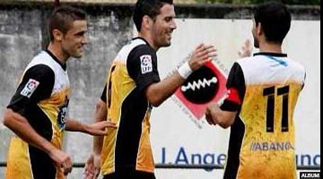 Las camisetas de los jugadores del Lugo causaron sensación