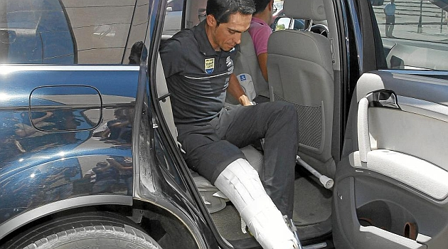 Contador dice adiós a la Vuelta a España