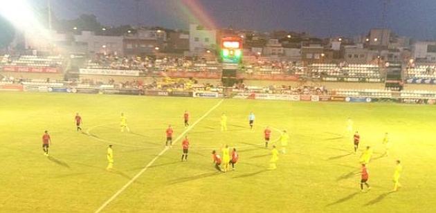 Partido entre el Reus y el Villarreal. Foto: Twitter Villarreal