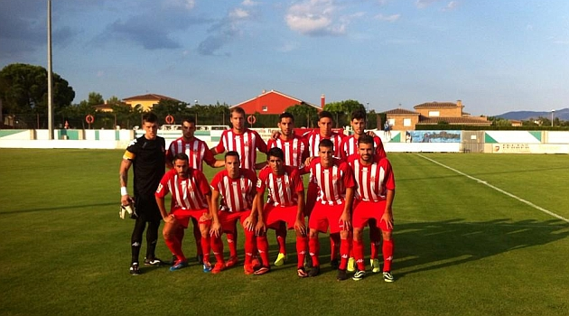 Primer once titular del Girona en la presente pretemporada / Girona FC
