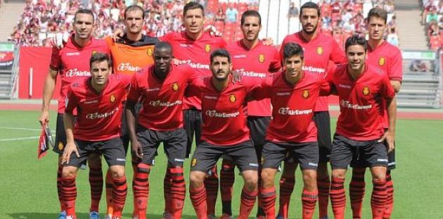 Primera alineación del Mallorca en esta temporada / Foto: twitter Mallorca
