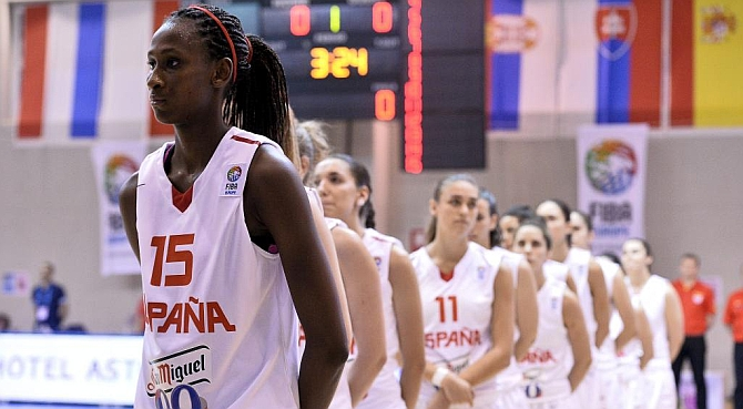 La niña prodigio del baloncesto español hace las Américas