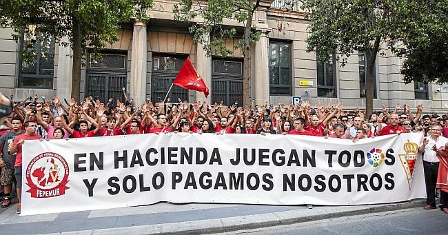 Debt-ridden Murcia relegated, Mirandés to take their place