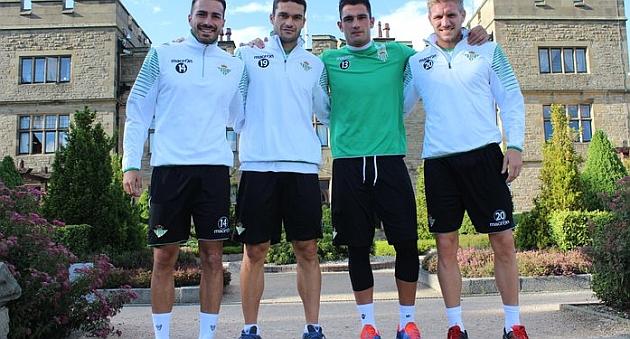 Los nuevos capitanes del Betis | Foto: Real Betis