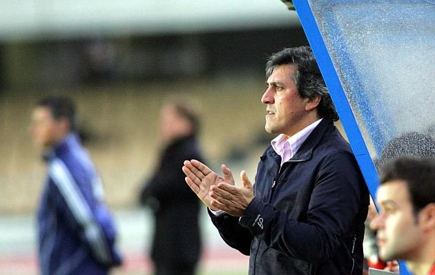 Pepe Murcia en su etapa como entrenador del Celta
