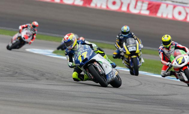 Aegerter rodando en los libres de Indianápolis / Foto: MotoGP.com