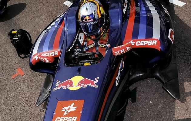 Sainz Jr., en las World Series G.P. de Mónaco