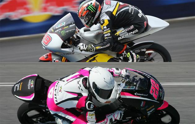 Navarro y Carrasco, cara y cruz en Moto3