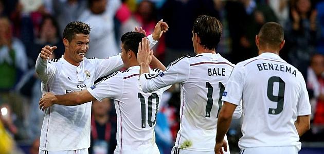 El Real Madrid enseña el colmillo a Europa