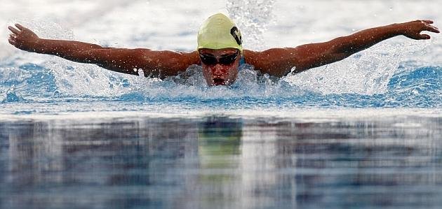 Mireia Belmonte, en los recientes Campeonatos de España de verano