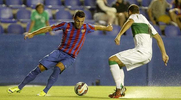 Levante y Elche se guardan los goles para la Liga