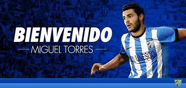 Miguel Torres ya es jugador del Málaga