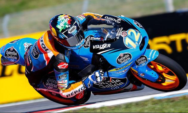 Álex Márquez durante los libres del GP de República Checa / MotoGP.com