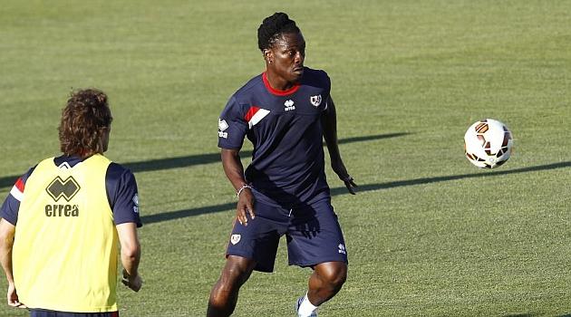 Boateng rescinde su contrato con el Rayo y jugará en el Eibar