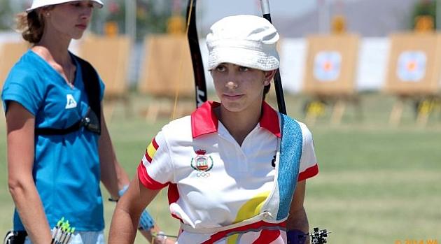 Diploma olímpico para Alicia Marín en tiro con arco