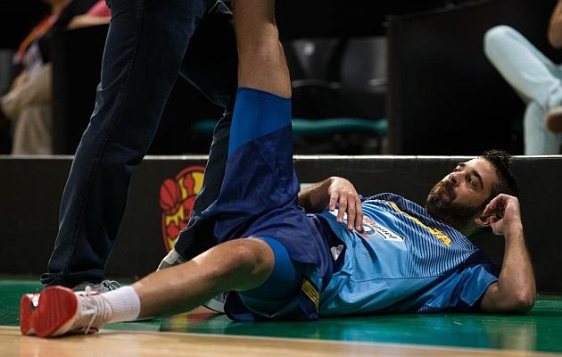 """Navarro: """"Hemos hecho el partido más serio de todos"""""""