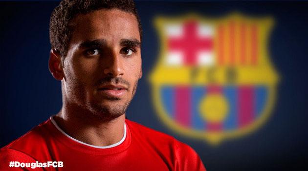 El Barça anuncia la llegada de Douglas