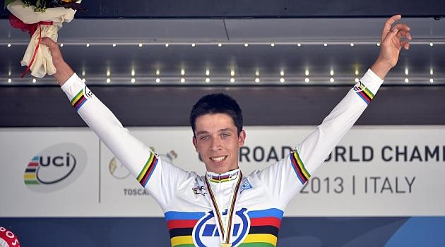 Fallece a los 18 años Igor Decraene, la esperanza del ciclismo belga
