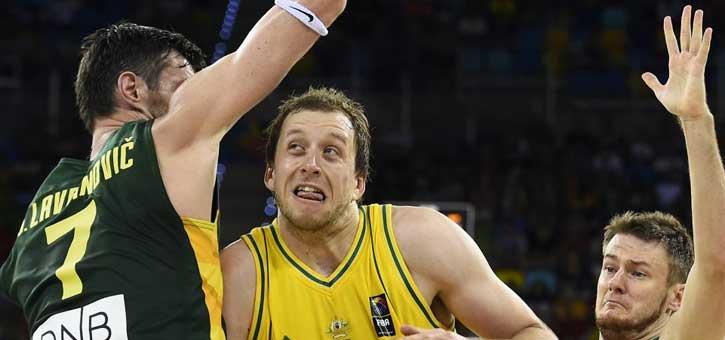 Australia tumba a Lituania con un gran primer tiempo