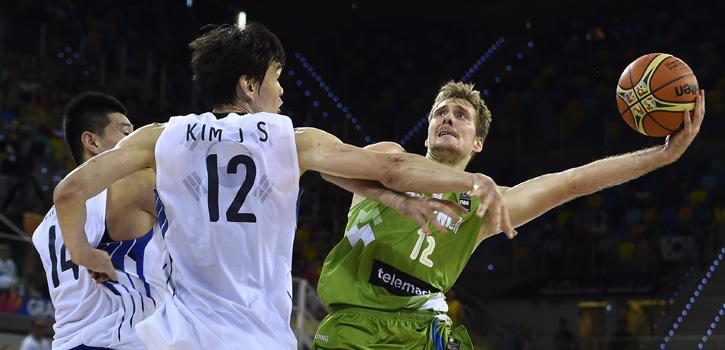 Dragic y Eslovenia se mantienen invictos