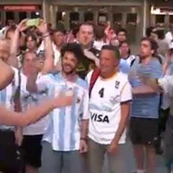 El cante Mundial de Argentina