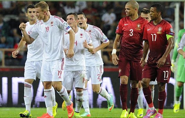 Vergonzosa derrota de Portugal contra Albania