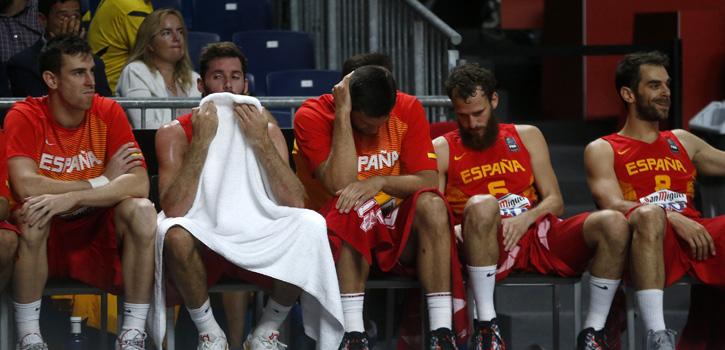 La noche más triste del baloncesto español