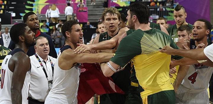 El 'Dream Team' y Lituania casi acaban a golpes la semifinal