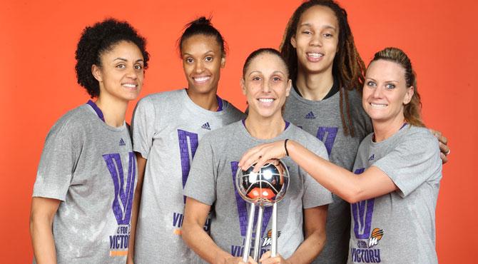 Las Mercury ganan la WNBA con Diana Taurasi en plan Michael Jordan