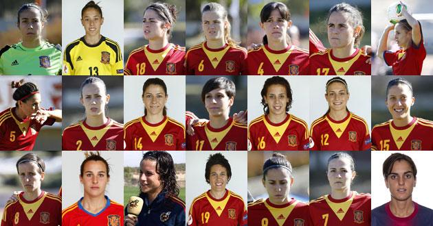 Veintiuna jugadoras de leyenda