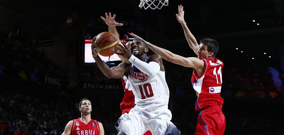 De escudero del 'Rey de la NBA' a 'Rey del Mundo': Kyrie Irving, MVP del Mundial