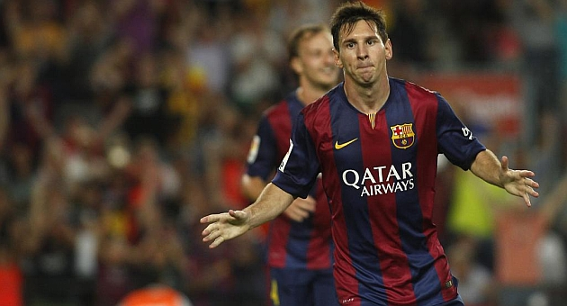 Messi, Champions League hot shot