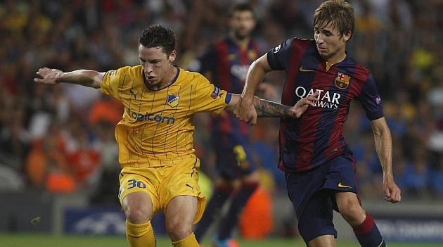 Samper, de la Escuela al debut en el Camp Nou