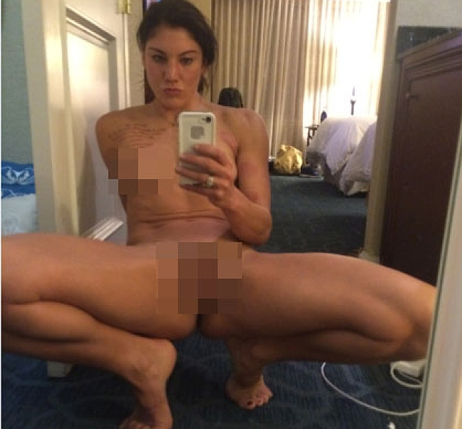 Hope Solo porn photos leaked