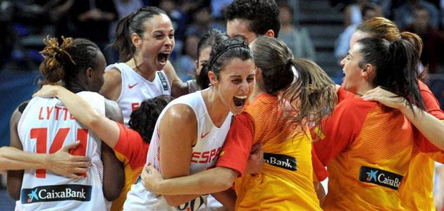 Spanish ladies reach b-ball World Championship final