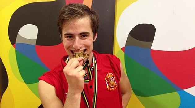 Pere Marsinyach, campeón del mundo júnior