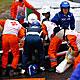 Bianchi se estrelló con su Marussia contra la grúa que retiraba el coche de Sutil
