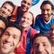 'Selfie' de estrellas en la Liga India