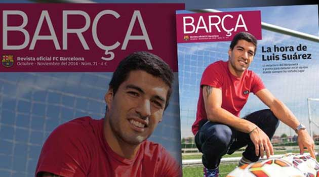Luis Su�rez: I wish I could have been trained at La Masia