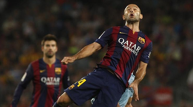 Mascherano: He disfrutado de centrocampista