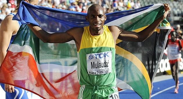 Muere a los 34 años el excampeón mundial de 800 metros Mbulaeni Mulaudzi