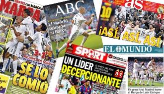 new product f27fe 7fbbb Mucho Real Madrid y poco Barcelona