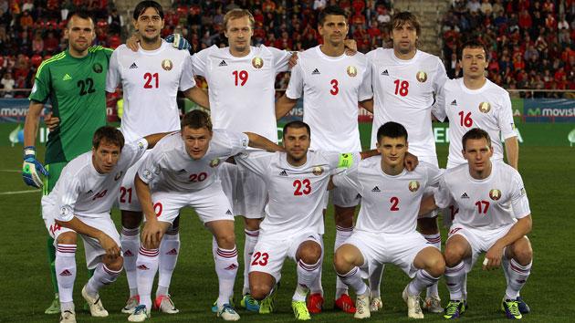 Resultado de imagen de seleccion bielorrusia