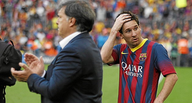 Martino: I don't know if we'll see Messi at his best again