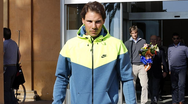 Nadal undergoes stem cell treatment on his back