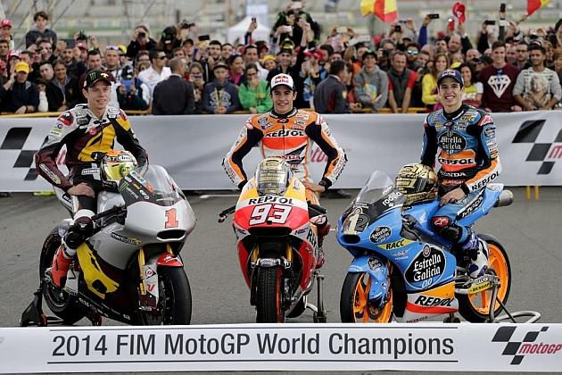 El 'Rufea Team' copa la foto de los campeones