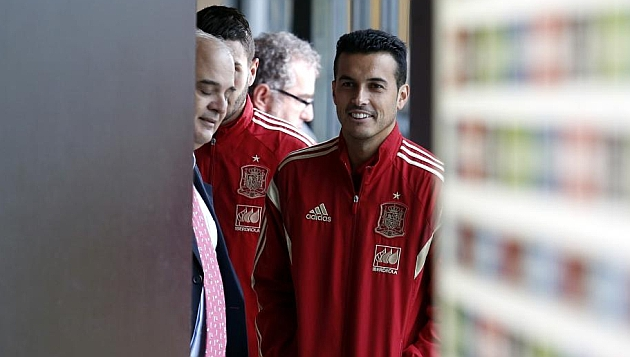 Pedro: Everybody wants to play for Spain